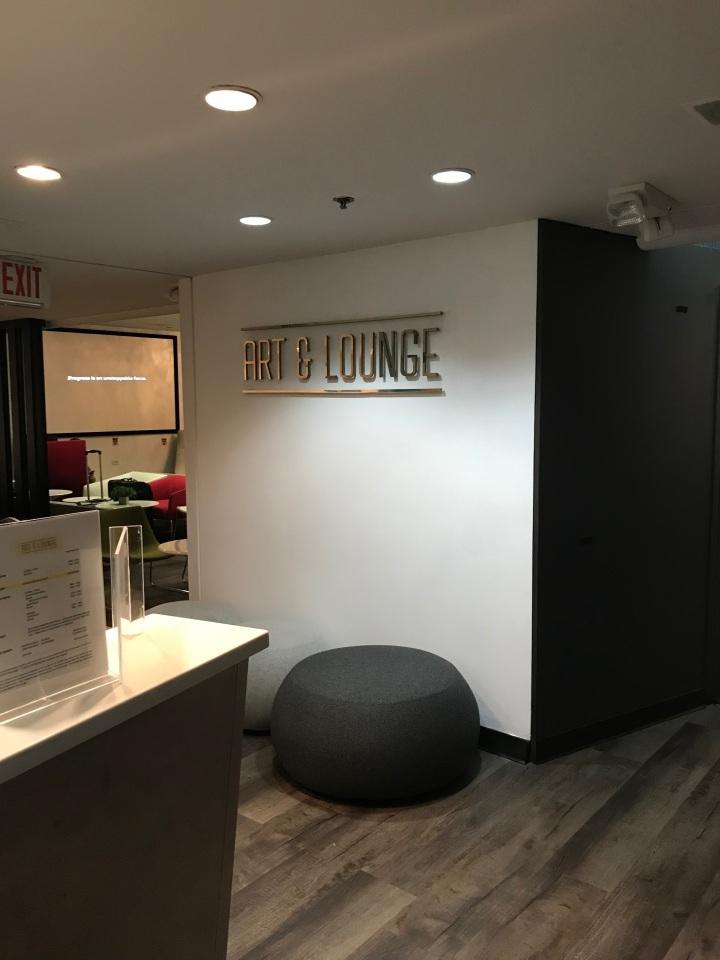 Review: Art & Lounge Newark Liberty InternationalAirport